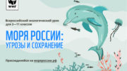 Движение ЭКА: интерактивный экоурок «Моря России»
