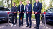 Министерство энергетики МО: станцию быстрой зарядки электромобилей запустили в Одинцовском городском округе