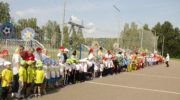 Более 250 дошкольников округа Красногорск приняли участие в фестивале футбола в День знаний