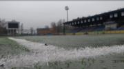 На стадионе «Зоркий» идет заливка льда