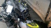 В Красногорске врачи спасли мотоциклиста, получившего тяжелую травму в ДТП