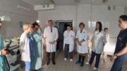 Глава г.о. Красногорск посетила акушерское отделение Красногорской городской больницы