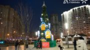 Эстафета зажжения новогодних елей продолжается в Красногорске