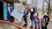 В акции «Мособлгаз – тепло большой семьи» в феврале приняли участие 250 семей Подмосковья