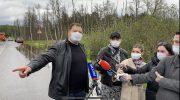 Отдельные территории г.о. Красногорск затопило. Побит исторический рекорд по количеству осадков